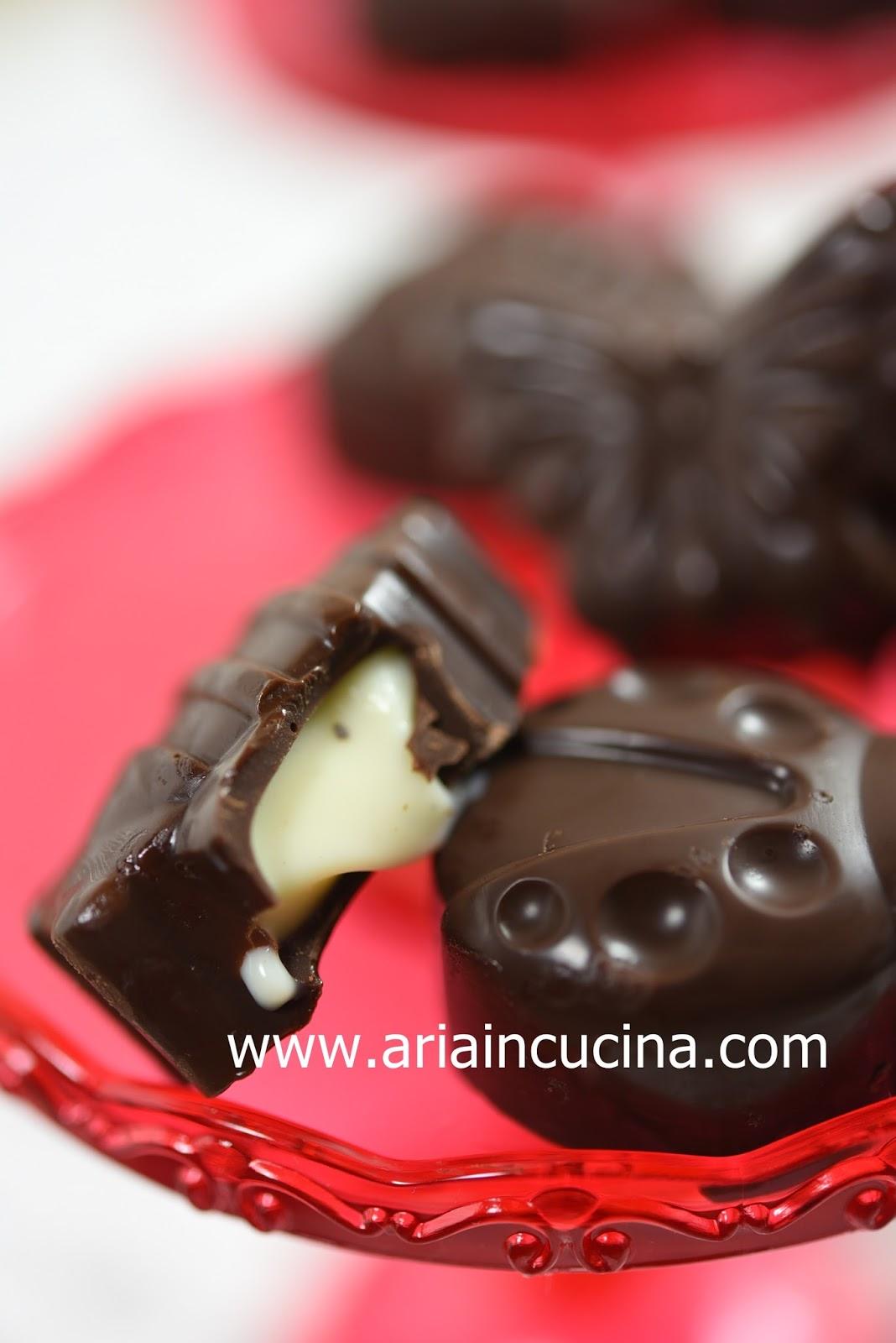 Cioccolatini animaletti con ganache alla vaniglia - Blog ...